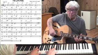 Too Late Now - Jazz guitar & piano cover  ( Burton Lane & A.J. Lerner )