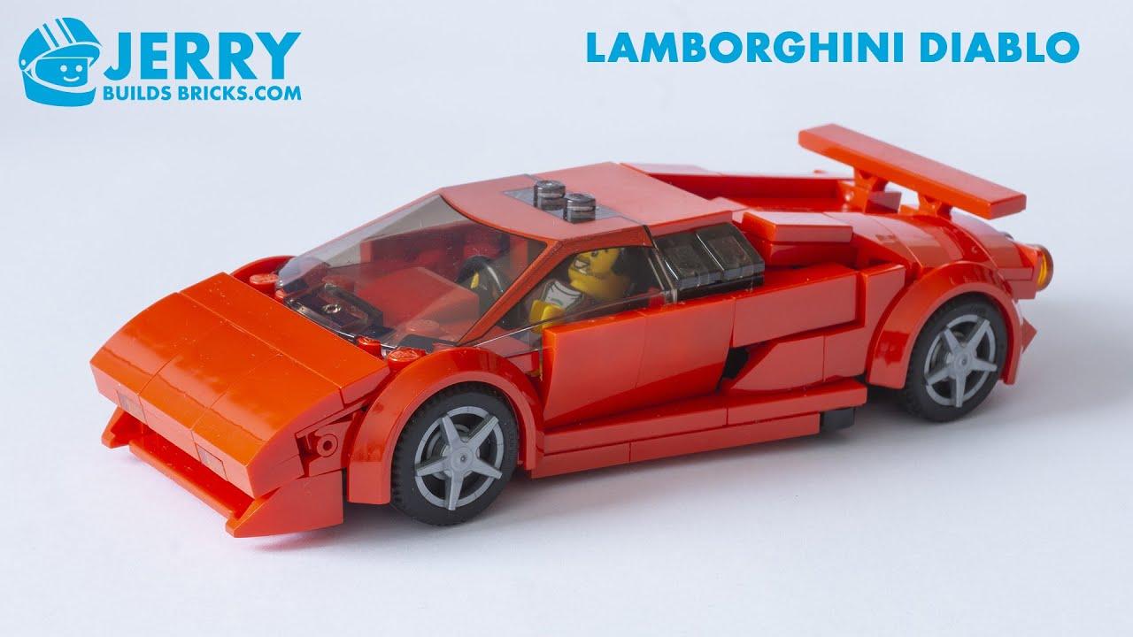 LEGO Lamborghini Diablo instructions (MOC #117)