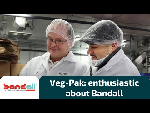 Veg-Pak Produce is enthusiastic about Bandall banding and branding