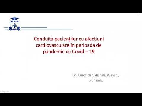 Download Conduita pacienților cu afecțiuni cardiovasculare în perioada de pandmie cu COVID-19