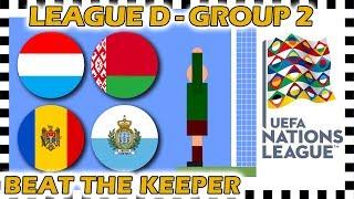 Marble Race - UEFA Nations League 2018/19 Prediction - League D - Group 2 - Algodoo