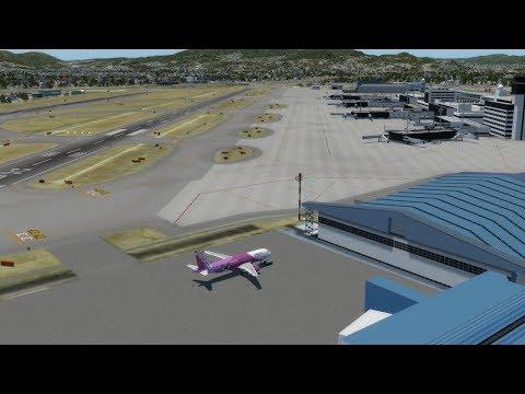 [P3D / VATJPN] RJOO(伊丹) - RJBB(関西) A320 APJ816P