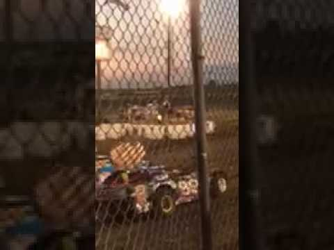 Josh Holland National Anthem at Macon Speedway