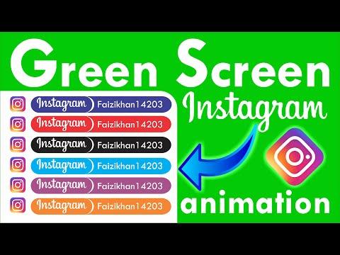 Social media effects animation |green screen Instagram |F.K TechNical