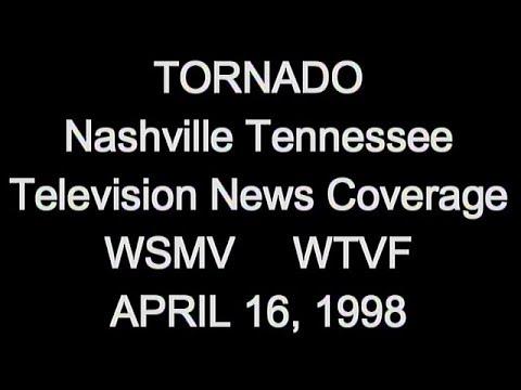 Nashville Tornado - April 16, 1998
