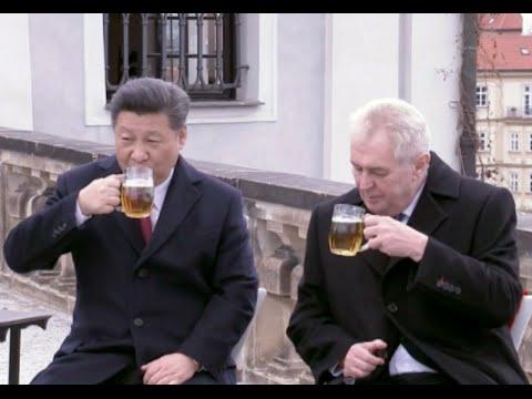 Chinese President Visits Prague's Strahov Library