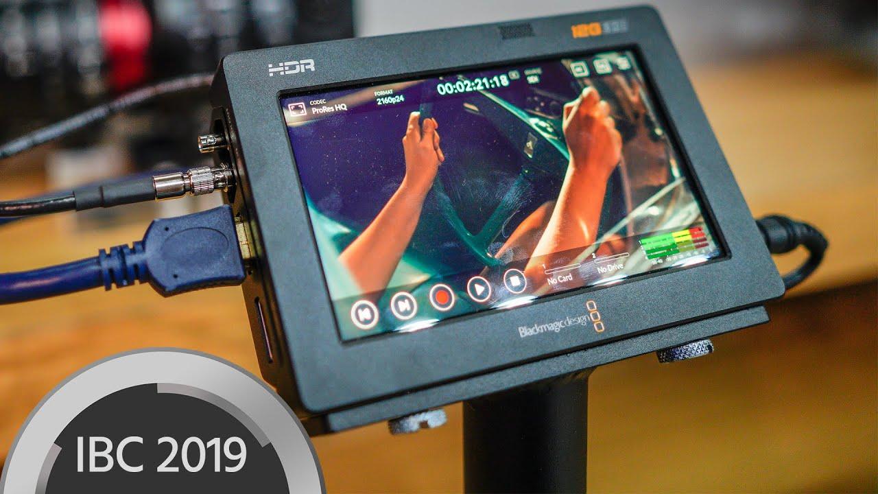 Blackmagic Video Assist 12g Monitors Enable Raw Recording Youtube