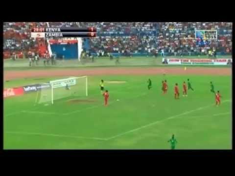 Winston Kalengo (Zambia) goal against Kenya