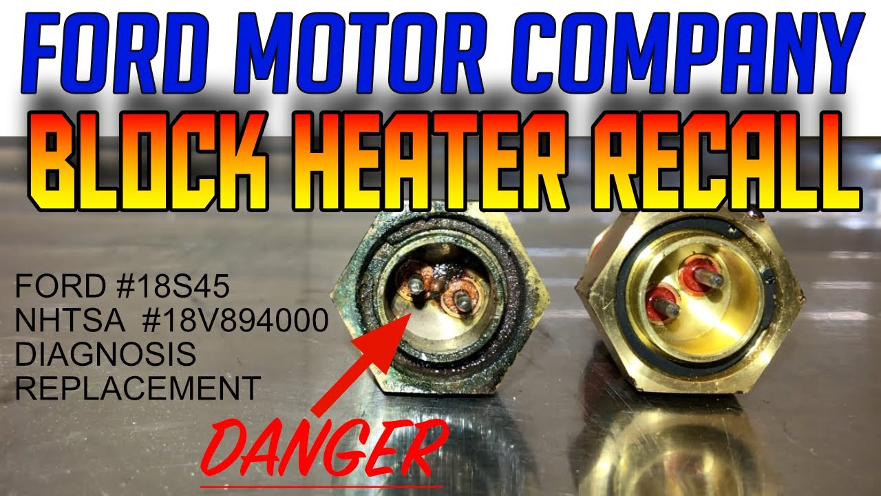 Ford F-150 COOLANT LEAK BLOCK HEATERS- Diagnosis & Replacement!