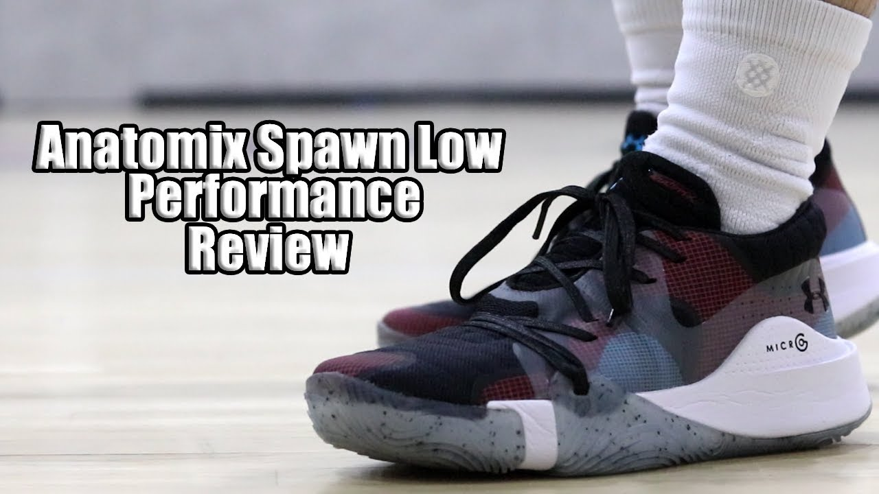 newest collection 6b291 3e784 Under Armour Anatomix Spawn Low Performance Review