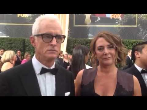 John Slattery dishes final season of 'Mad Men' on Emmy red carpet