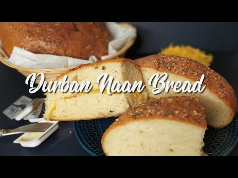 Durban Naan Bread Recipe Eatmee Recipes Youtube