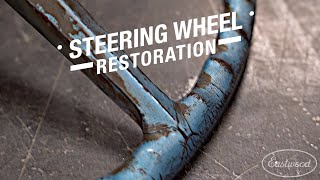 How to Repair Your Cracked Steering Wheel  - Master Steering Wheel Repair Kit - Eastwood