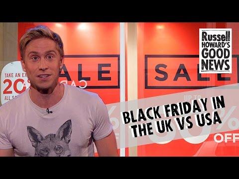 Black Friday in the UK vs USA