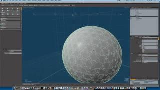 Modo 401 3D Modeling Tutorial:  The Golfball