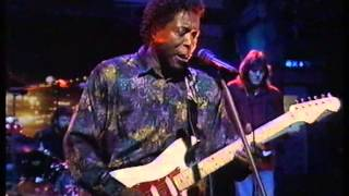 BUDDY GUY-DAMN RIGHT I GOT THE BLUES-THE LATE SHOW-1991