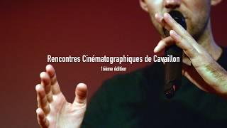 Remerciements - 16e Rencontres Cinématographiques de Cavaillon