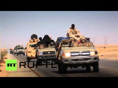 Libya: Haftar-loyal army units prepare for battle near IS-held Sirte