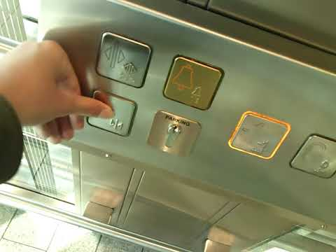 A Schindler Eurolift elevator @ Luxembourg Airport, Luxembourg