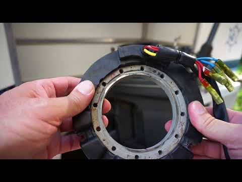 How to check replace stator on Force Mercury Marine Outboard