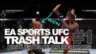 """""""AXE KICK TO FRONT KICK KO!"""" EA Sports UFC Episode 1 Thumbnail"""