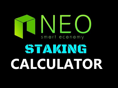Neo Coin Staking Calculator | How To Stake NEO + Claim Gas | How To Stake Crypto Crypto