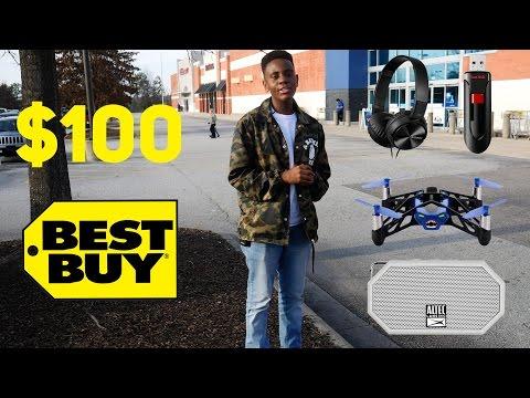 $100 Best Buy Challenge!