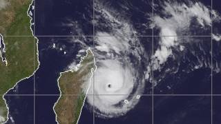 All eyes on Tropical Cyclone Giovanna Landfall in 24hrs Madagascar
