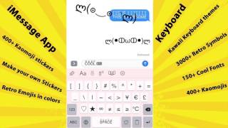 Symbol Infinity - 400+ Kaomoji stickers for iMessage and make your own stickers