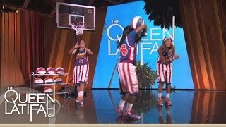 The Globetrotters Showcase Their Moves!  | The Queen Latifah Show