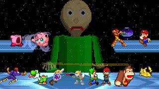 - Baldi Basics VS Super Smash Bros Animation
