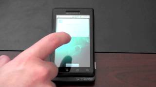 Motorola Droid OS Overview (Android 2.0)