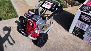 Simpson MegaShot Pressure Washer Review and How To