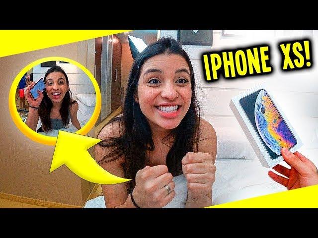 DEI UM IPHONE XS PARA MINHA NAMORADA!! ( SURPRESA )