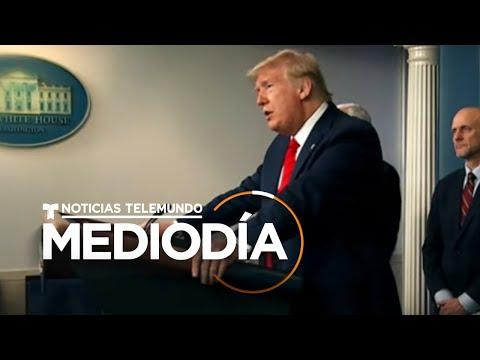Noticias Telemundo Mediodía, 19 de marzo 2020   Noticias Telemundo