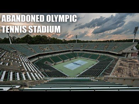 Exploring an Abandoned Olympic Tennis Stadium - Now Demolished