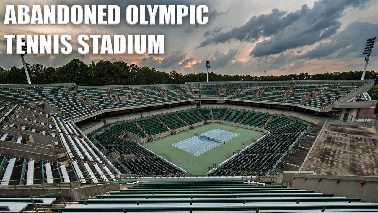 Exploring An Abandoned Olympic Tennis Stadium Now Demolished - Eerie abandoned olympic venues around the world