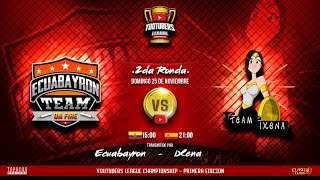 YLC/Team EcuaBayron vs Team Ixena #ClashOfClans