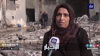 الاحتلال يواصل حشد آلياته العسكرية على حدود غزة - (26-3-2019)