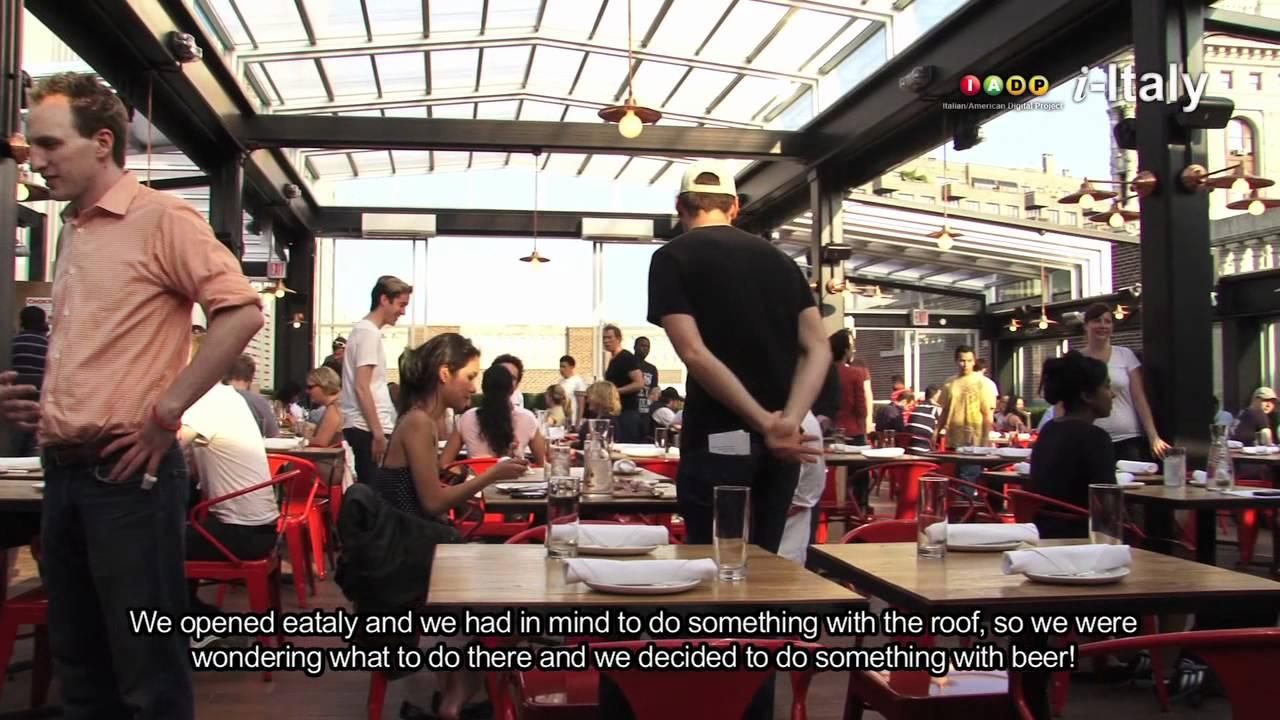 Eataly NYC. An Italian Birreria On The Roof   YouTube