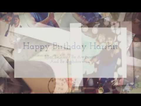 Happy Birthday Harshit ❤