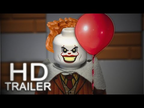 LEGO IT 🎈TRAILER 2017 (Pennywise Clown) RECEATION