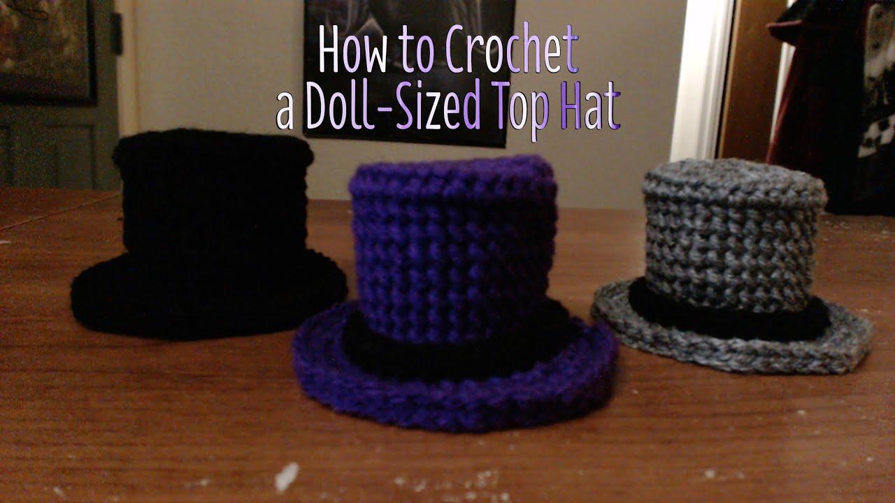Free Mini Sombrero Crochet Pattern - Hooked On Patterns | 720x1280