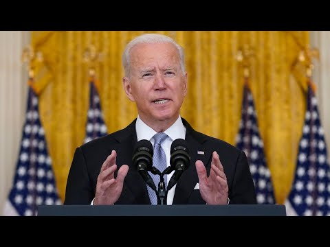 Biden 'stands behind' decision to withdraw from Afghanistan