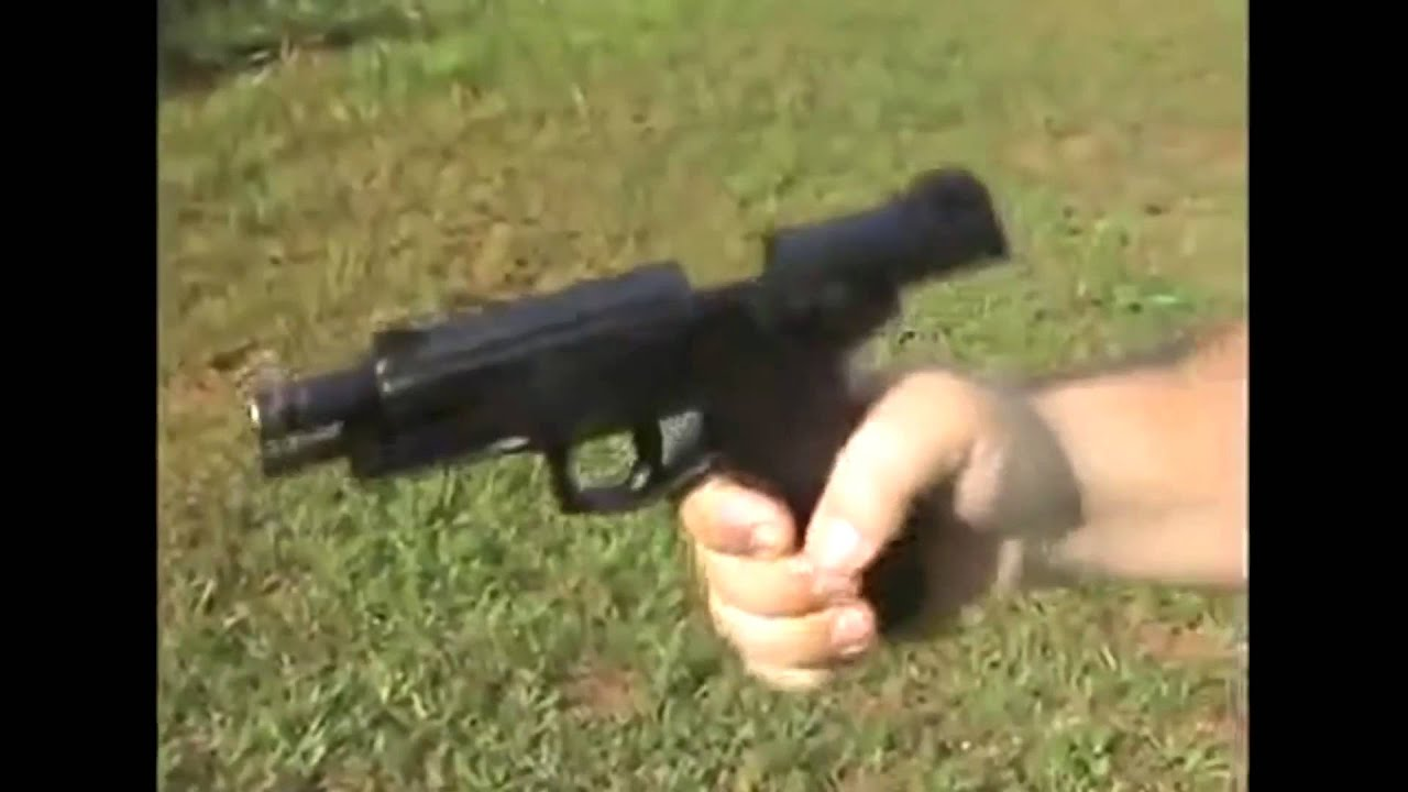 Watch Taurus 247 Pistol Fire Just By Being Shaken Youtube