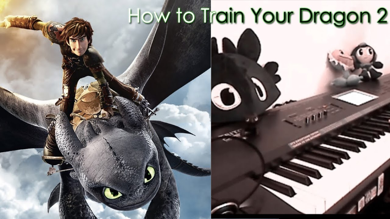 how to train your dragon piano