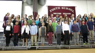 "Foote School Sixth Graders Sing ""One Candle, One Flame"""