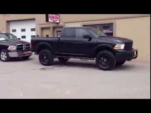 Stock vs Lifted Custom 2012 Dodge Ram 1500 | MacIver Dodge Jeep | Newmarket Ontario
