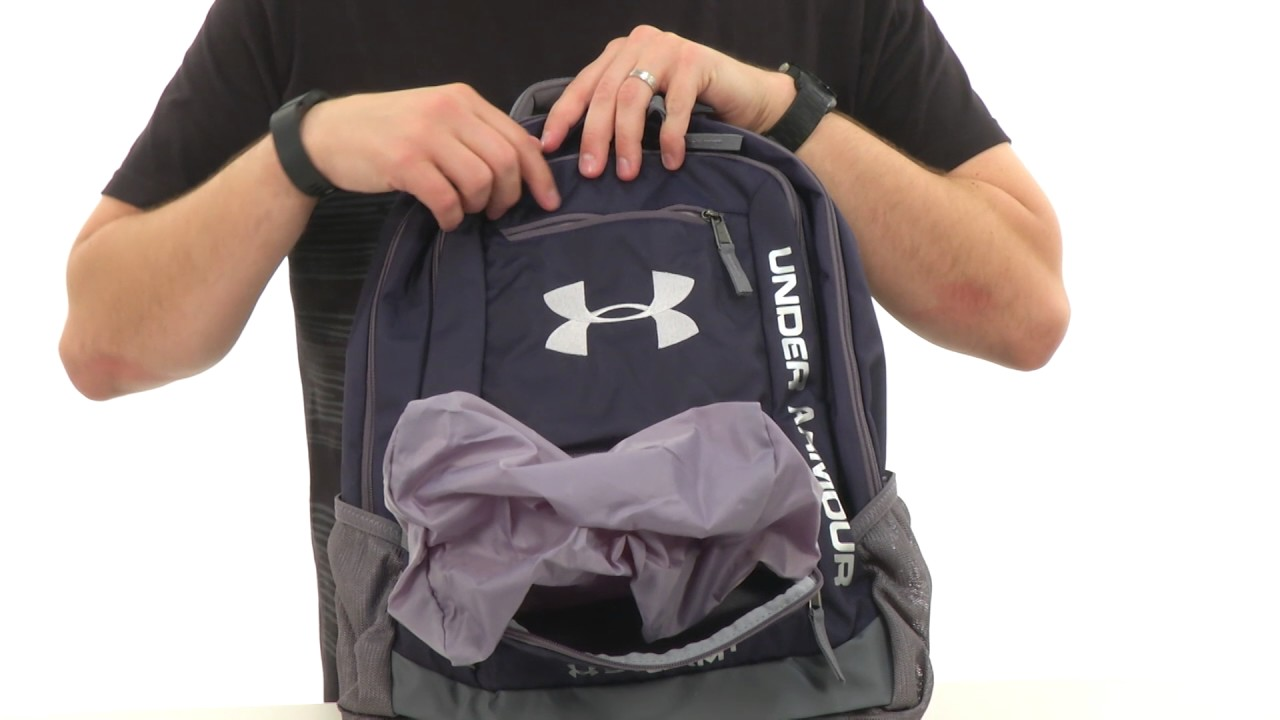 2b509c7527 Under Armour UA Hustle Backpack II SKU 8520349 - YouTube