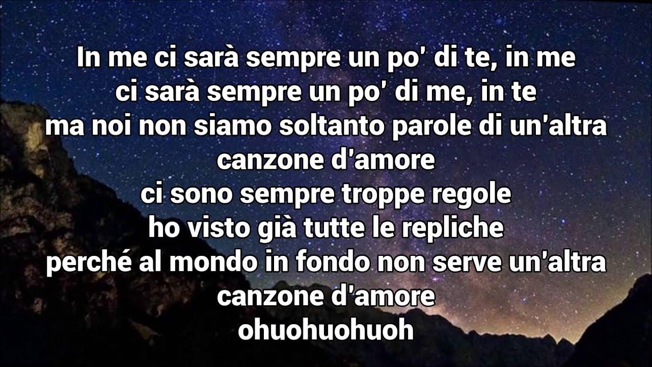 Marracash Niente Canzoni D Amore Ft Federica Abbate Lyrics Youtube